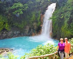 Rio Celeste waterfall from Guanacaste