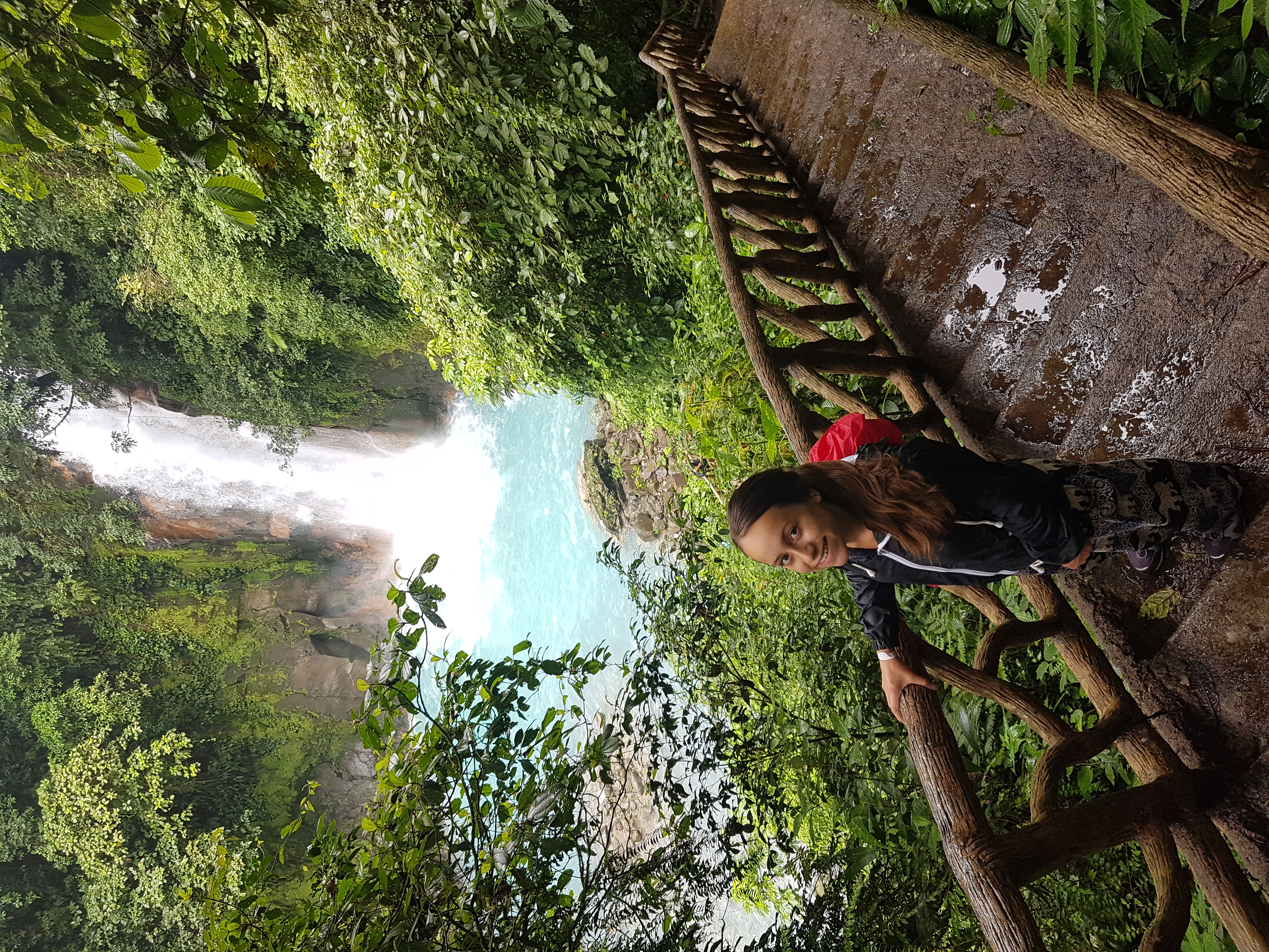 "Rio Celeste hike  ""solo travell"""