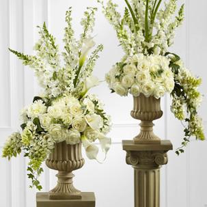 Set of Two Urn Funeral Arrangeme