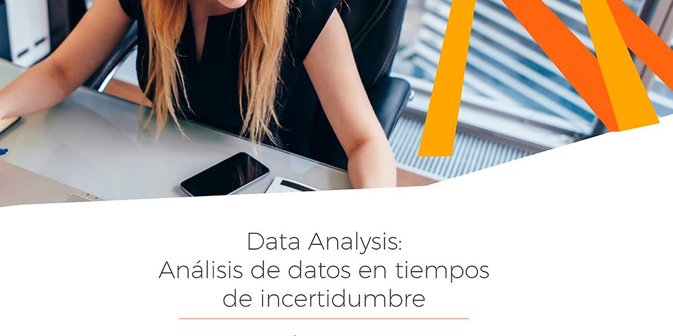 Data Analysis: Análisis de datos en tiempos de incertidumbre