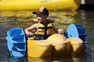location,bateaux à pédales enfants parc aquatique, base nautique, la roche de rame, briancon, pays des ecrins
