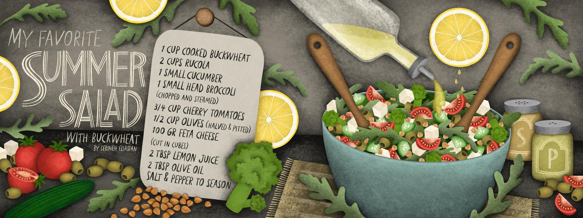 My Favorite Summer Salad