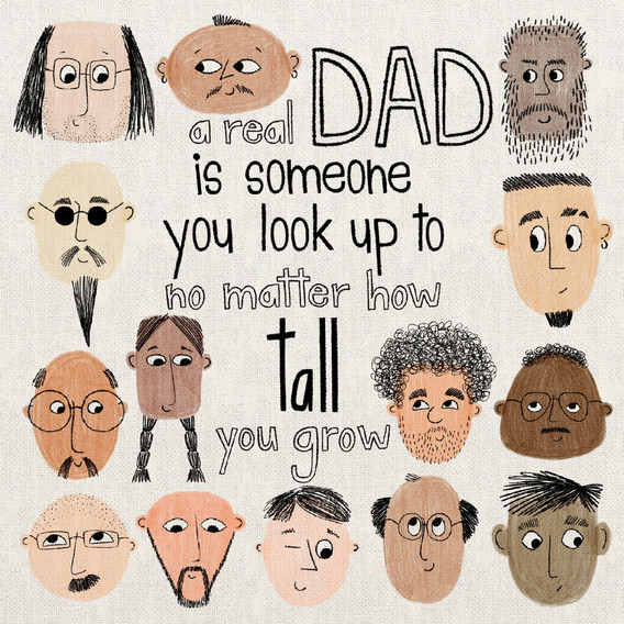 A real DAD is someone ...