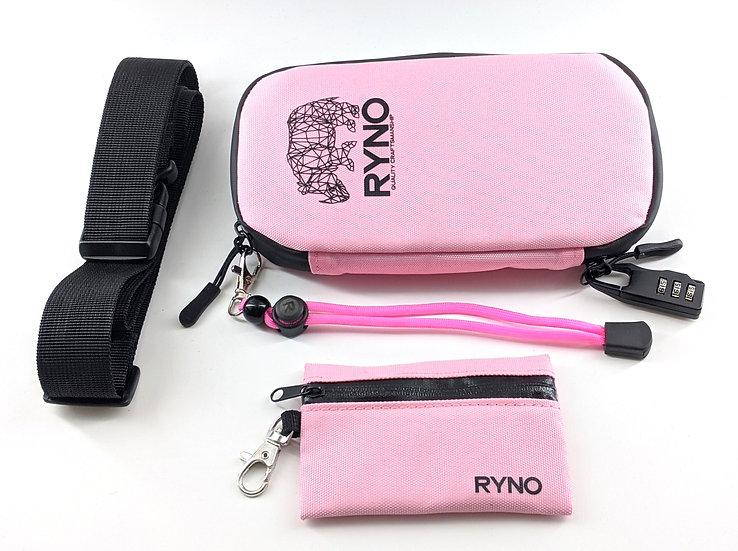 RYNO Smell Proof Bag W/Combo Lock + Shoulder&Wrist Straps