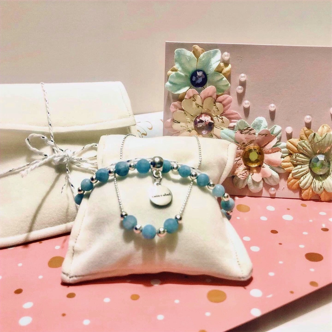 Blue Chalcedony set