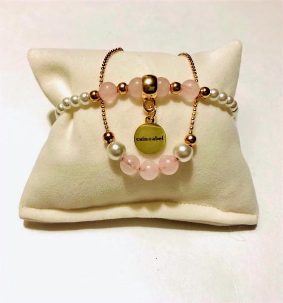 Rose Quartz Set-Bridal