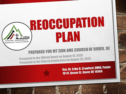 reoccupation guide - church conference p