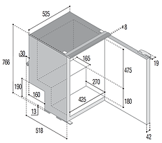 C115i Dimensiones