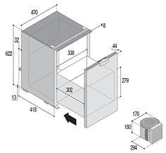 C75DW Dimensiones