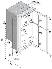 DP2600i Dimensiones