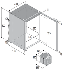 C75L Dimensiones