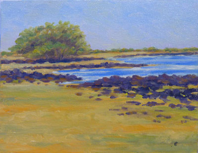 Energy Lab Beach, 8x10, (#2022)
