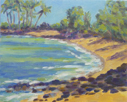 Kekaha Kai Beach, 8x10 (#2024)