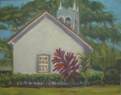 Pauko Church, 8x10, (#2059),