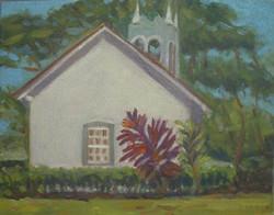 Pauko Church, 8x10, (#2059),