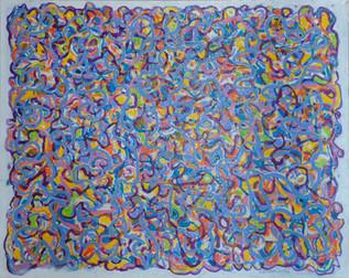 Swirl Blue and Yellow