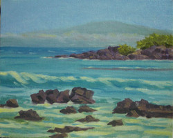 Beach 69 Maui View, 8x10