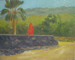 Waiting For Surf, 8x10, (#2063)