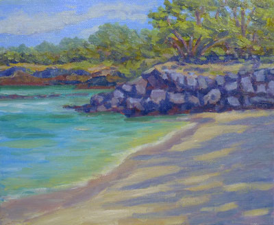 Beach 69 Rocks, 8x10, (#2041)