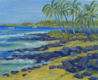 Honl's Beach, 8x10, (#2037)