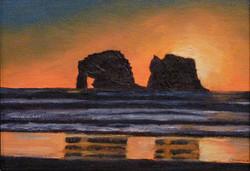 Oregon691HaystackRockSunset