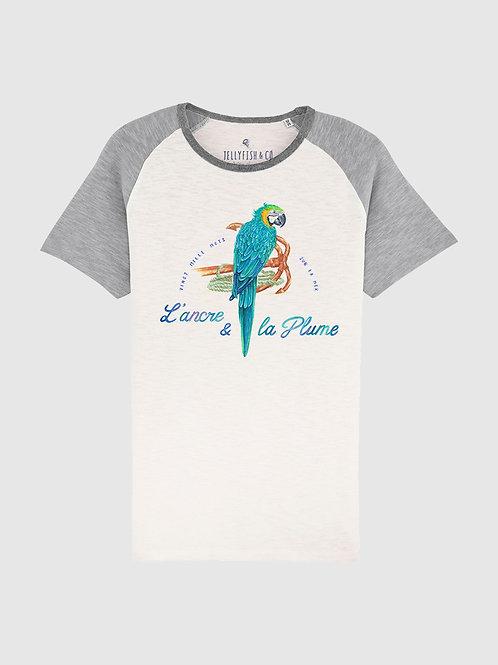 T-shirt« L'ancre & La plume» homme