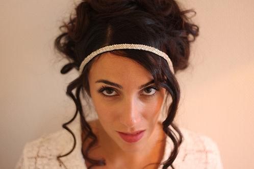 Headband brodé de perles 2