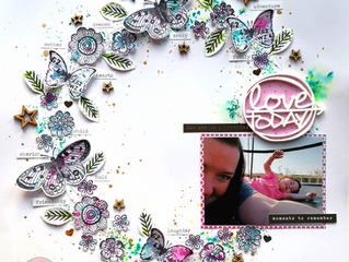'Love Today' Layout