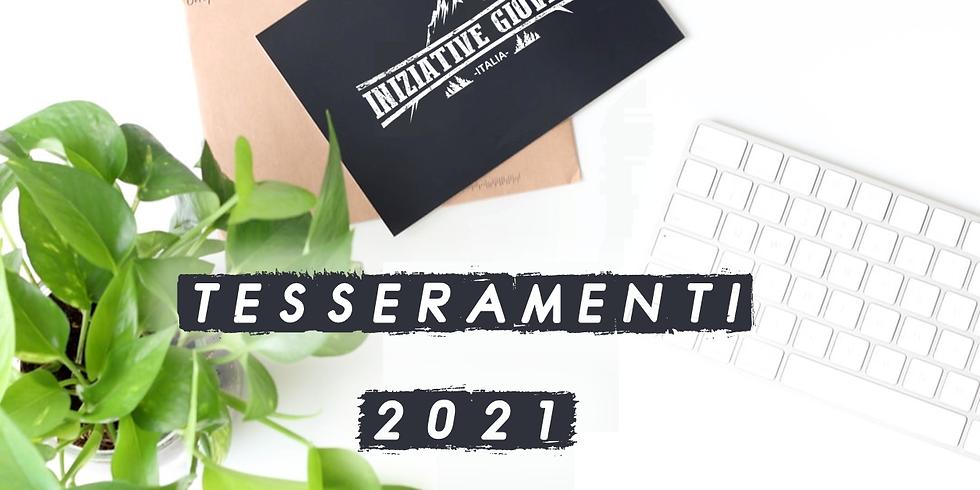 TESSERAMENTI 2021