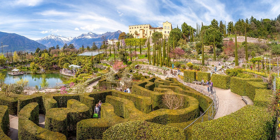 I giardini dell'Imperatrice Sissi