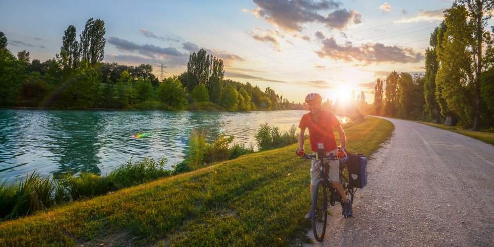 In bici sulla ciclabile Peschiera-Mantova