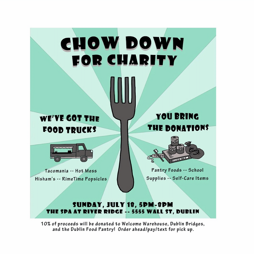 CHOW DOWN FOR CHARITY