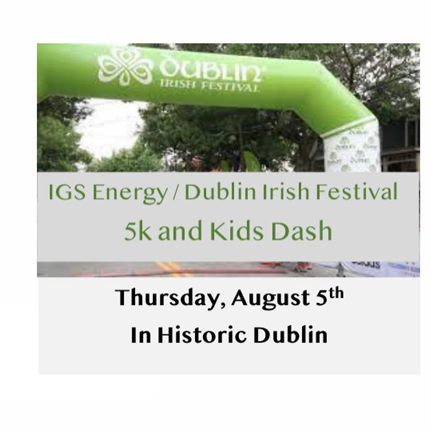 IGS Energy/Dublin Irish Festival 5K + Kid Dash 2021