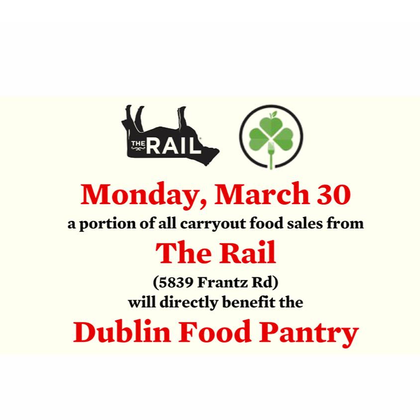 The Rail Monday Fundraiser for Dublin Food Pantry