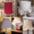 Lamp shade making - various styles - made by The Sewing Parlour in Northwich