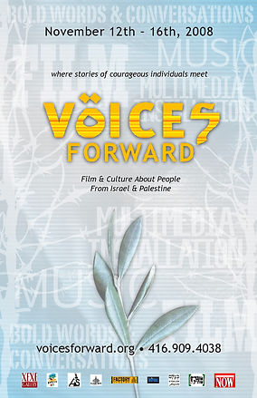 Voices Forward Festival Poster 2008
