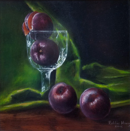 PLUMS IN CRYSTAL