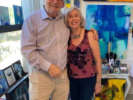 Our Artist Coop - CPAS - participated in the Arlington Visual Art Studio Tour.
