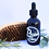 natural beard oil and face serum gift set - brush 3