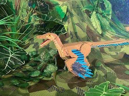 בייבי דינוזאור בתערוכת הלגו באילת. צילום