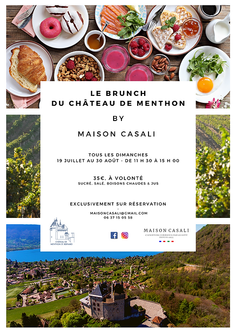 brunch chateau menthon
