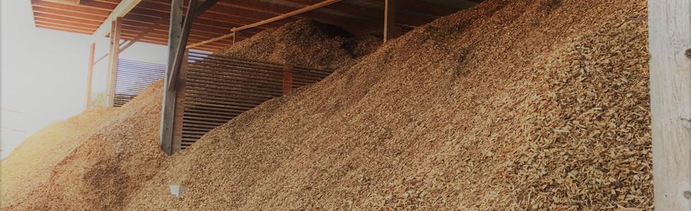 Stockage plaquette de bois - Broyage Noeppel