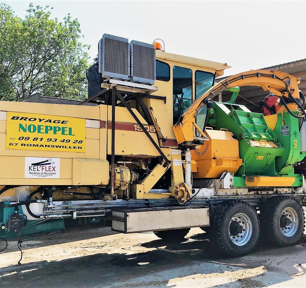 Broyeur bois mobile - Broyage Noeppel