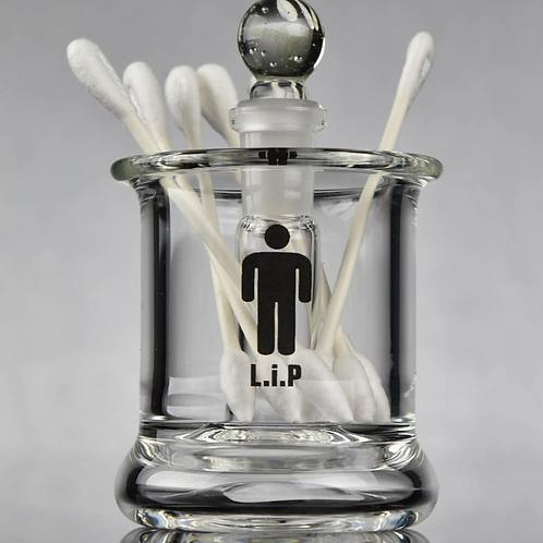 """""""The Kitchen Sink"""" q-tip iso jar"""