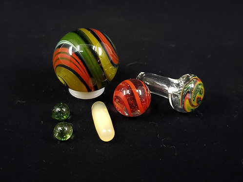 rasta themed terp slurper set