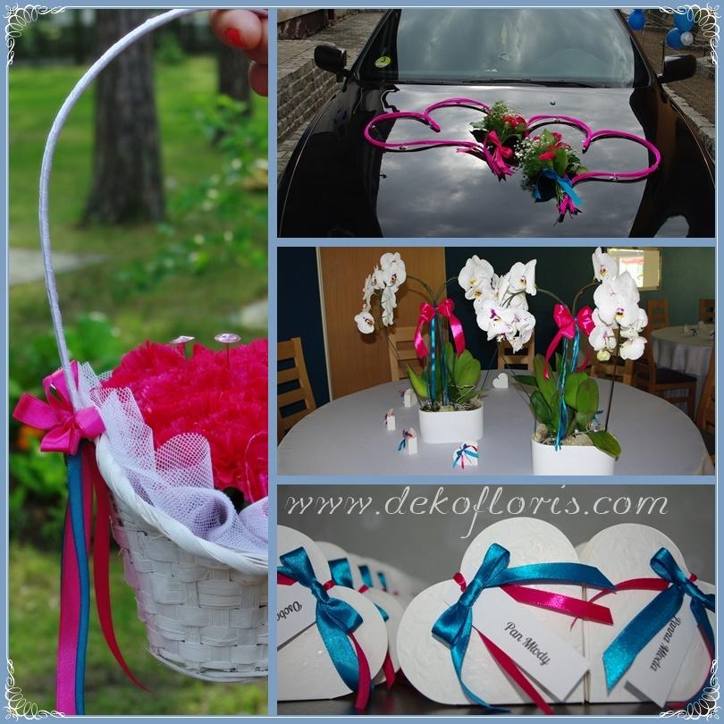ślubna_dekoracja_samochodu,_poduszeczka_obrączki,_prezenty_dla_gości_weselnych
