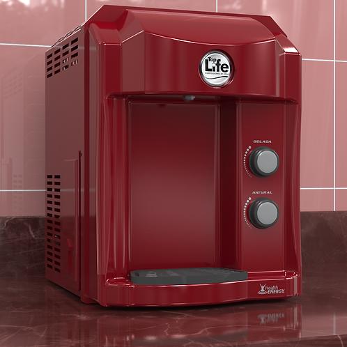 Água alcalina ionizada refrigerada por compressor - HE