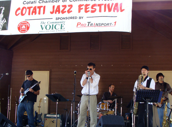 RS at Cotati Jazz Fest