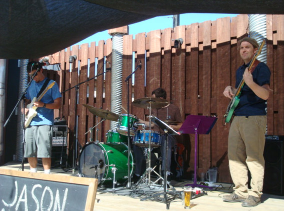 JBG at Lagunitas, Petaluma with John and Steve