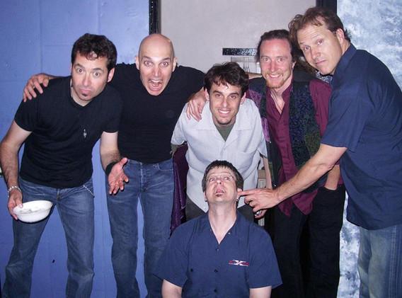 J and Tom with Joe Satriani band